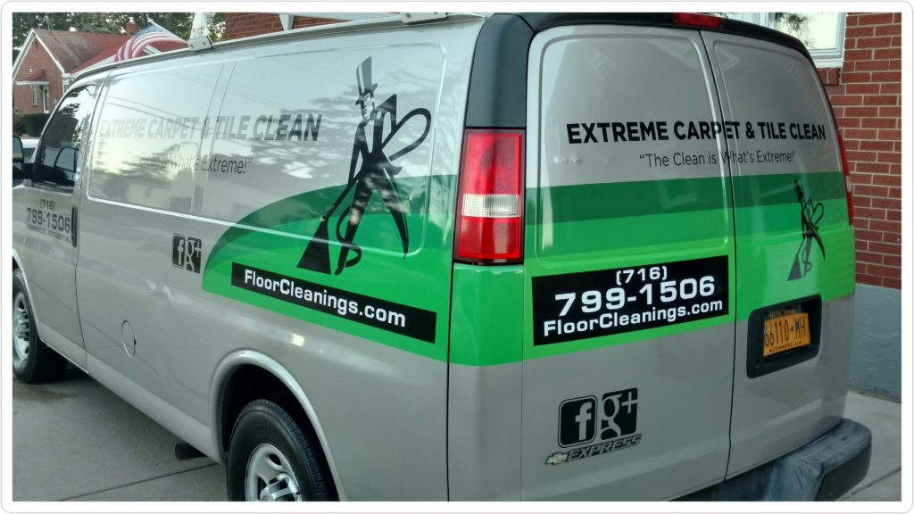 Extreme Carpet and TIle Clean_van